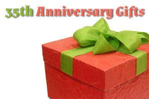 35th Wedding Anniversary Gift