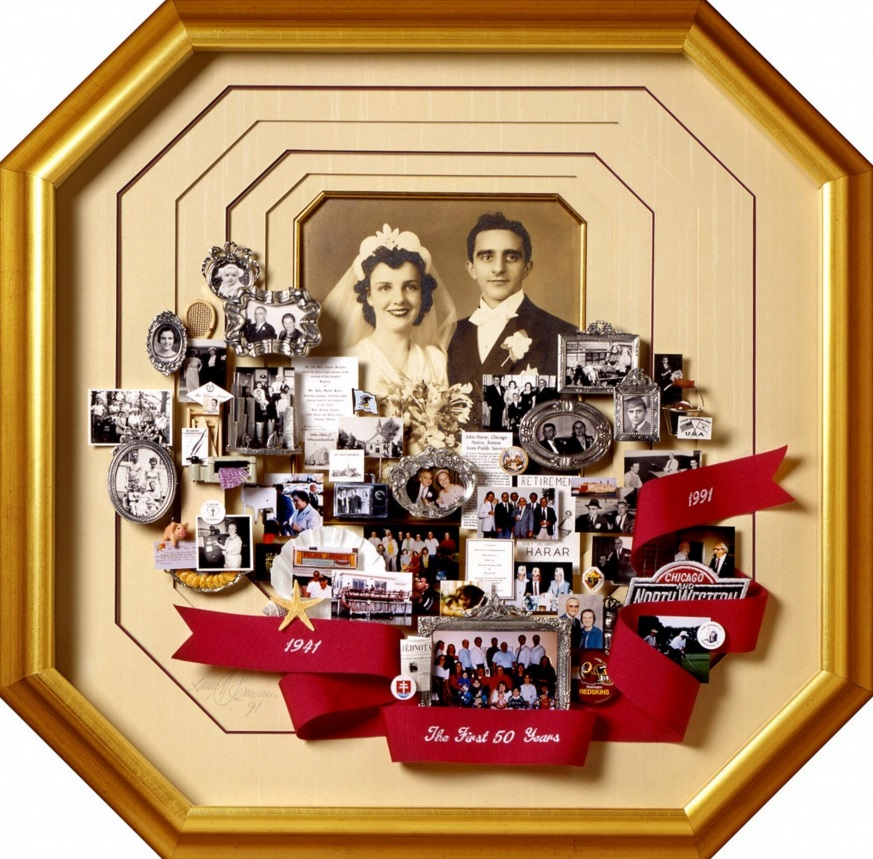 Golden Wedding Anniversary Gift Ideas For Parents: Golden Anniversary Gifts For You Mum And Dad