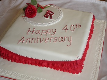 40th Wedding Anniversary Gifts Modern Traditional Ideas