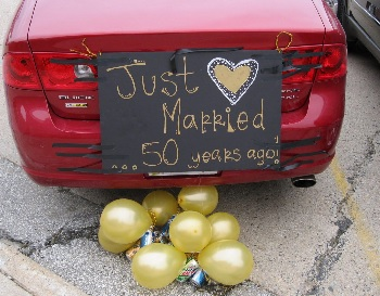 just married 50 years ago